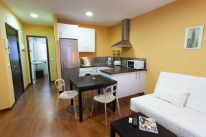 Salón Comedor - Apartamentos Cuna 41 2ºA